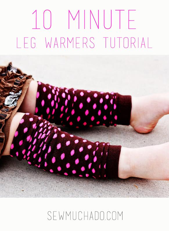 DIY Baby Leg Warmers