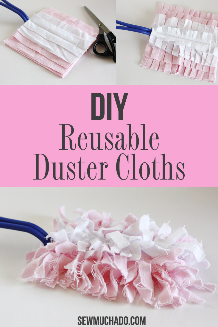 Swiffer Duster Reusable Cloths Tutorial