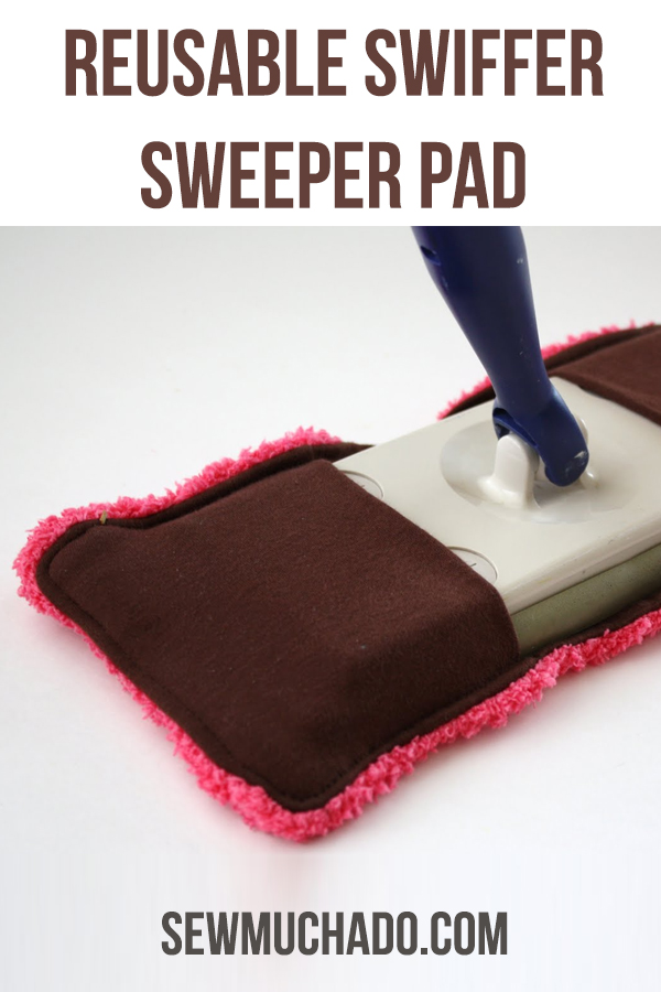 reusable swiffer sweeper pad