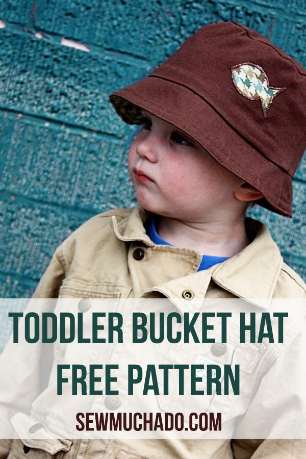 toddler bucket hat free pattern