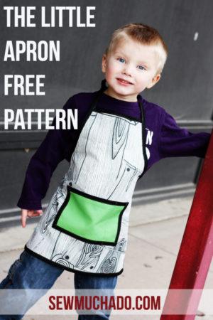 Kids Apron Free Pattern