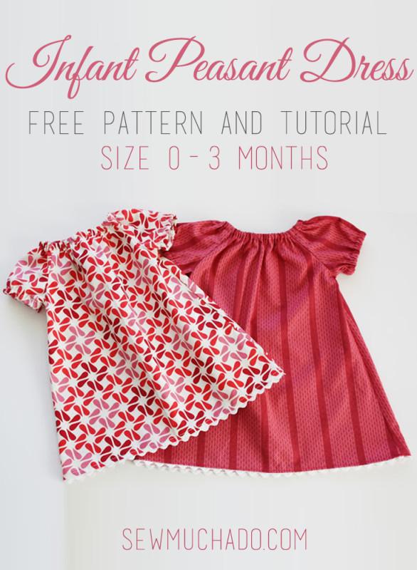 peasant dress free pattern