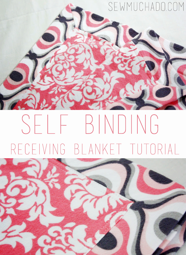 how to make a receiving blanket