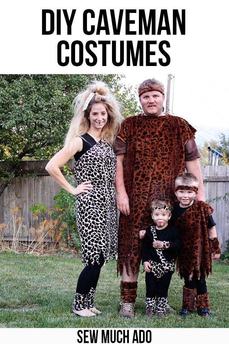 DIY Caveman Costume