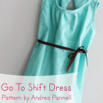 Go To Shift Dress Pattern Review