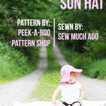 Pattern Review: Floppy Flower Sun Hat