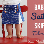 Baby Sailor Skirt Tutorial
