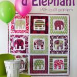 Cirque d'Elephant Quilt Pattern!