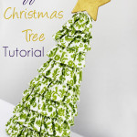 Ruffled Christmas Tree Tutorial