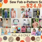 Sew Fab ePattern Sale – 18 Patterns at Over 80% Off!