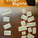 DIY Custom Fridge Magnets