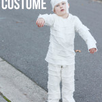DIY Mummy Costume For Kids