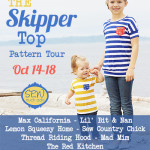 Skipper Top Pattern Tour Announcement