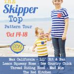 Skipper Top Pattern Tour Announcement
