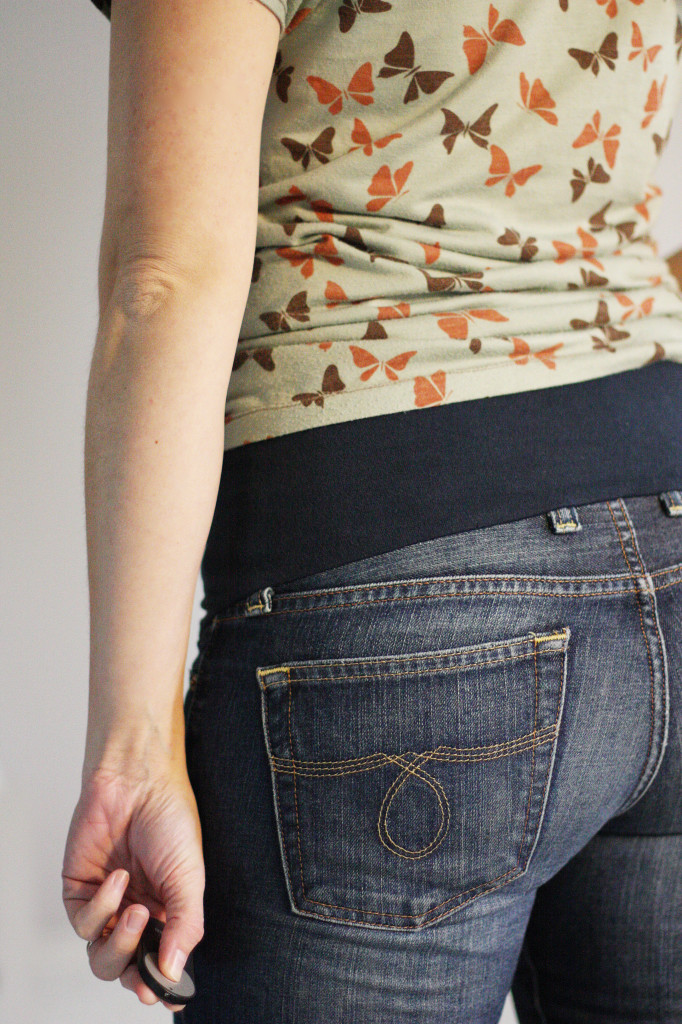DIY Maternity Jeans - Sew Much Ado