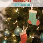 Mini Stocking Ornaments Free Pattern