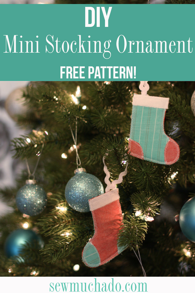 DIY Mini Stocking Ornament