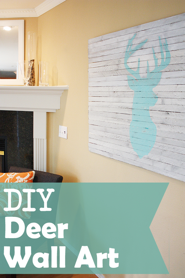 DIY Deer Wall Art