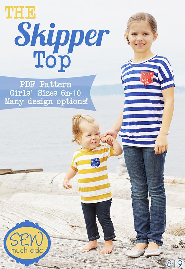 skipper top pattern