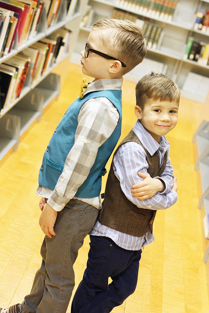 Schoolboy Vest PDF Pattern