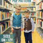 Schoolboy Vest PDF Pattern is Here!