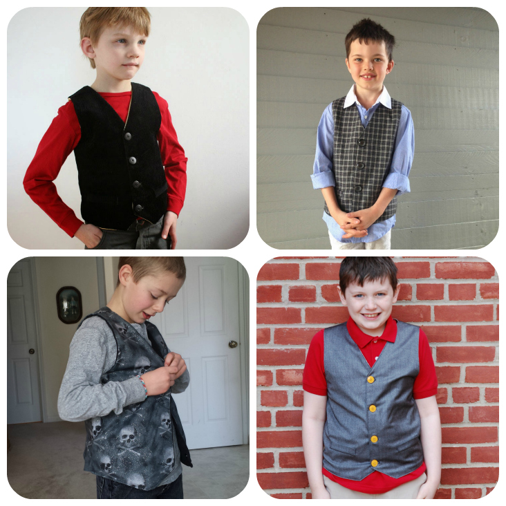 Schoolboy Vest Collage 1