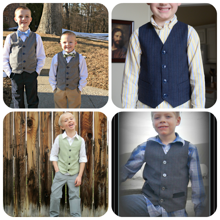 Schoolboy Vest Collage 2