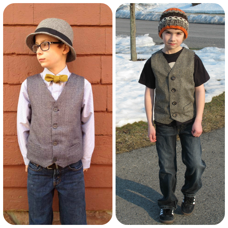 Schoolboy Vest Collage 7