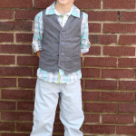 Schoolboy Vest Pattern Tester Photos