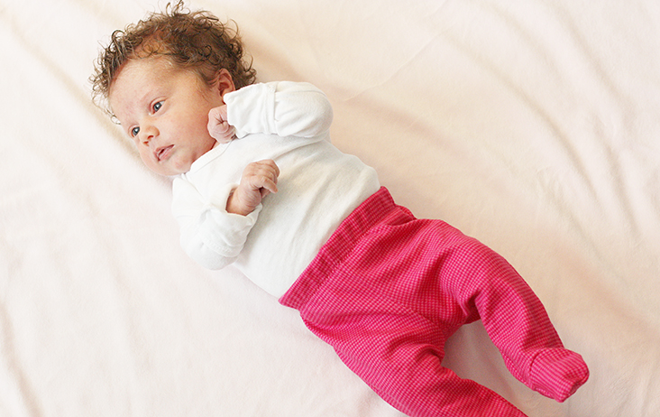 bafc6efcfb705 Free Footed Baby Pants Pattern - Sew Much Ado