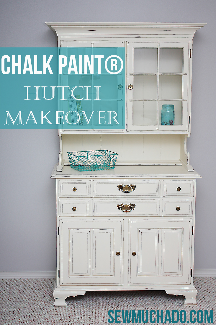 Hutch makeover with chalk paint sew much ado for Wholesale chalk paint