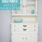 Hutch Makeover With Chalk Paint®