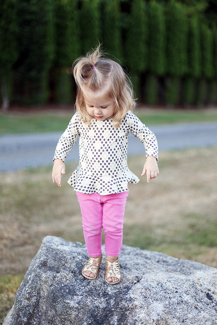 Peplum Knit Top Pattern