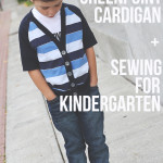 A Greenpoint Cardigan – Sewing for Kindergarten