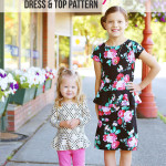 Pretty in Peplum Dress & Top PDF Pattern – It's Here!