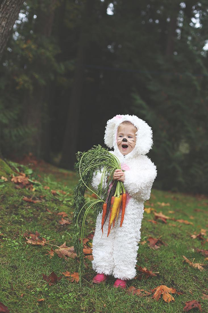 DIY bunny costume