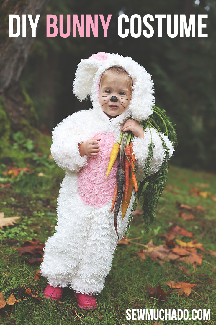 DIY bunny costume