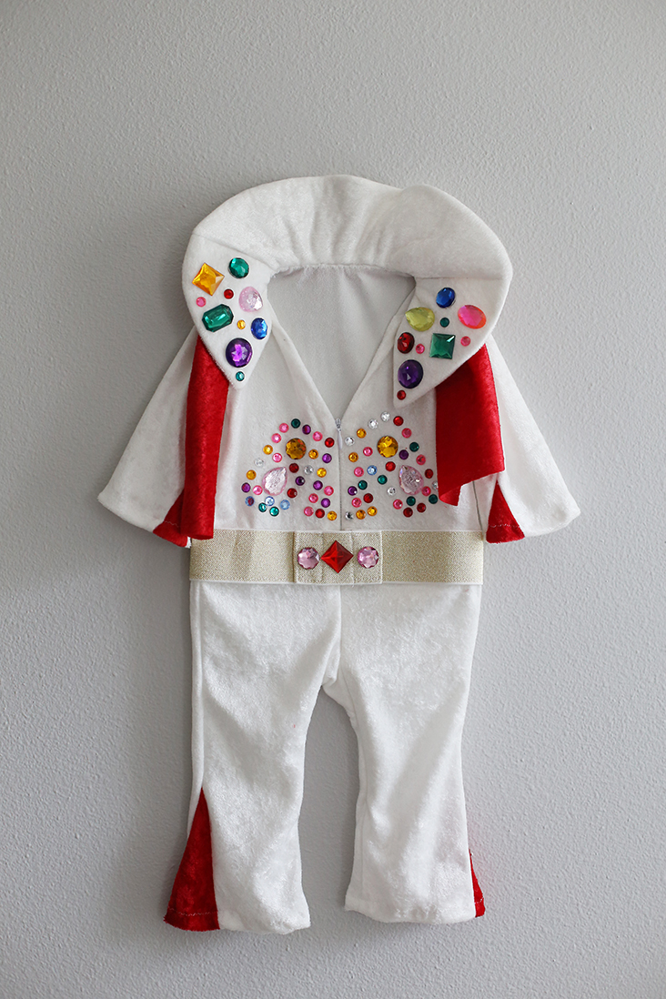 DIY Baby Elvis Costume
