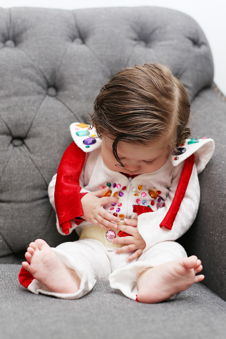 DIY Baby Elvis Costume