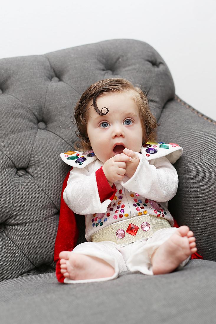 DIY Baby Elvis Costume DIY Baby Elvis Costume  sc 1 st  Sew Much Ado & DIY Baby Elvis Costume - Sew Much Ado
