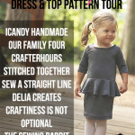 Pretty in Peplum Pattern Tour & $100 Girl Charlee Giveaway!