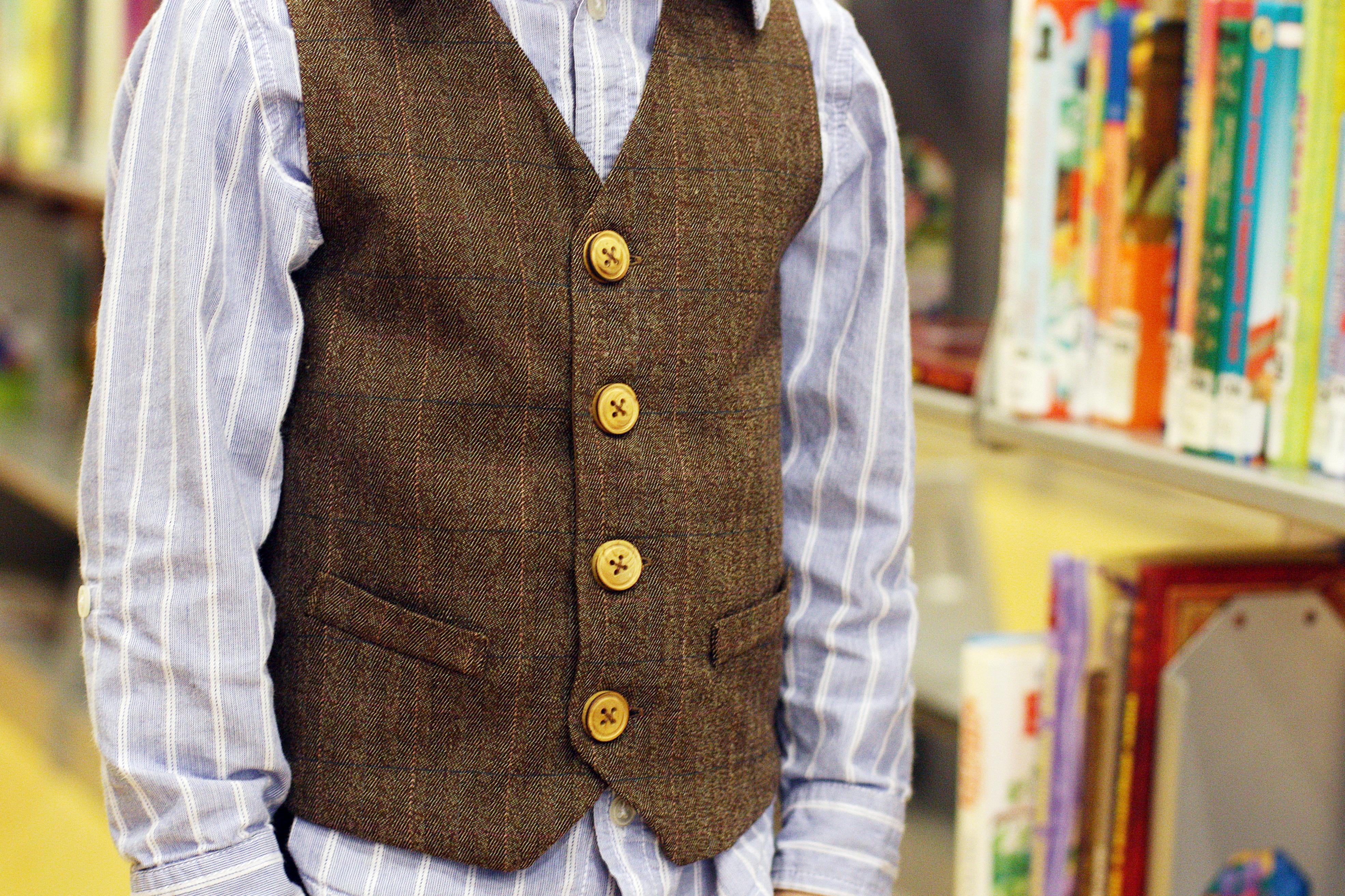 Boys Vest Pattern Cool Design