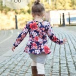 Our Family Four – Pretty in Peplum Pattern Tour
