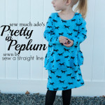 Pretty in Peplum Tour – Sew A Straight Line