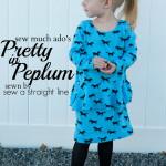 Pretty in Peplum Tour – Sew A Straight Line