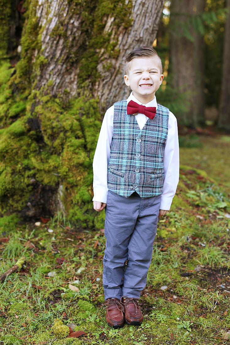 schoolboy vest