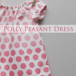 Polka Dot Polly Peasant Dress