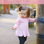 girls free peplum top pattern