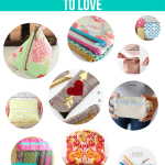 10 Zippered Pouch Tutorials to Love