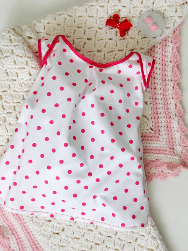 Diy Easy Sew Girls Dresses For Fall free baby dress pattern